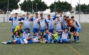 El Puerto Malagueño cadete logra el ascenso a Primera Andaluza tras una gran temporada
