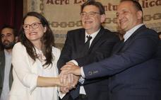 Puig cede a Unidas Podemos una vicepresidencia para salvar su investidura
