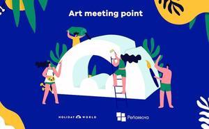 El hotel Hydros Hotel & Spa de Holiday World pone de nuevo en marcha el proyecto artístico Art Meeting Point