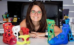 La alhaurina que diseña y produce férulas en 3D recibirá un reconocimiento del Rey Felipe VI