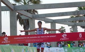 El triatleta malagueño Alberto González competirá este sábado en las Series Mundiales en Nottingham