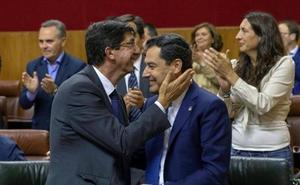 Marín: «Vox ha entendido la necesidad de estabilidad para Andalucía»
