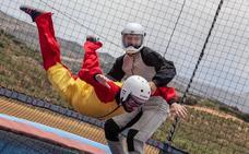 Abre en Campillos el primer simulador de paracaidismo a cielo abierto de España