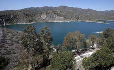 Así es la presa del Limonero en Málaga