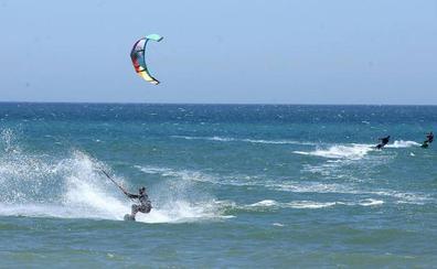 Regresa el terral y el viento de poniente a Málaga