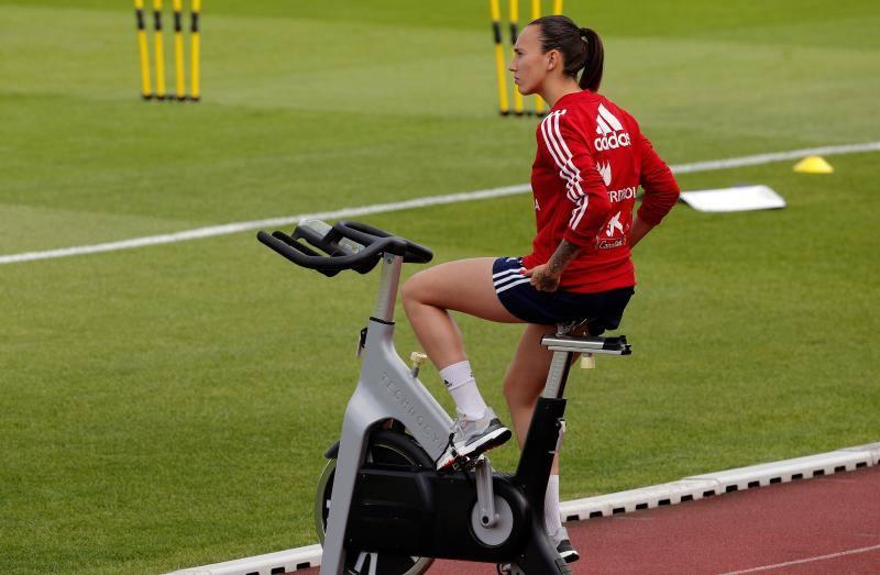 Virginia Torrecilla sigue al margen del equipo