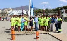 El Ayuntamiento de Estepona inicia el servicio de vigilancia en playas y piscinas públicas
