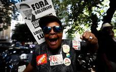 Brasil se moviliza contra el recorte de pensiones de Bolsonaro