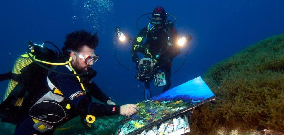 El pintor que toreó tiburones