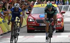 Alaphilippe, vencedor de etapa con 'foto-finish'