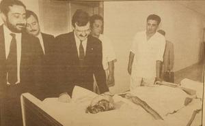 El hospital del SAS en Málaga que se abrió rodeado de higueras y olivos cumple 30 años