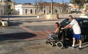 Plaza del Patrocinio: un paso de peatones sin terminar