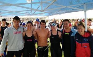 Doblete malagueño para abrir el Campeonato de España de aguas abiertas