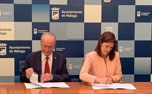 PP y Ciudadanos firman el acuerdo de gobierno para Málaga