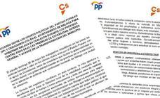Texto íntegro del acuerdo entre PP y Ciudadanos para el Ayuntamiento de Málaga