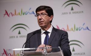 Juan Marín se muestra convencido de que «en breve» habrá un acuerdo en Málaga