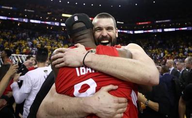 Los Raptors de Marc Gasol, Ibaka y Scariolo conquistan la NBA