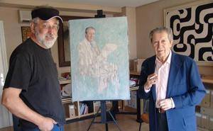 Manuel Alcántara: historia de un retrato