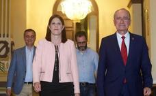 Segundo gobierno de coalición en la historia democrática de Málaga