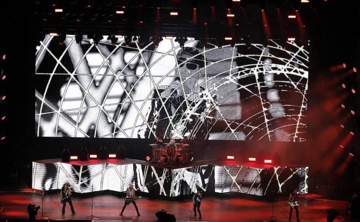 Scorpions, en concierto en Fuengirola