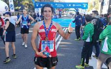 El malagueño José Antonio Urbaneja, tercero de España de 100 kilómetros en Santander