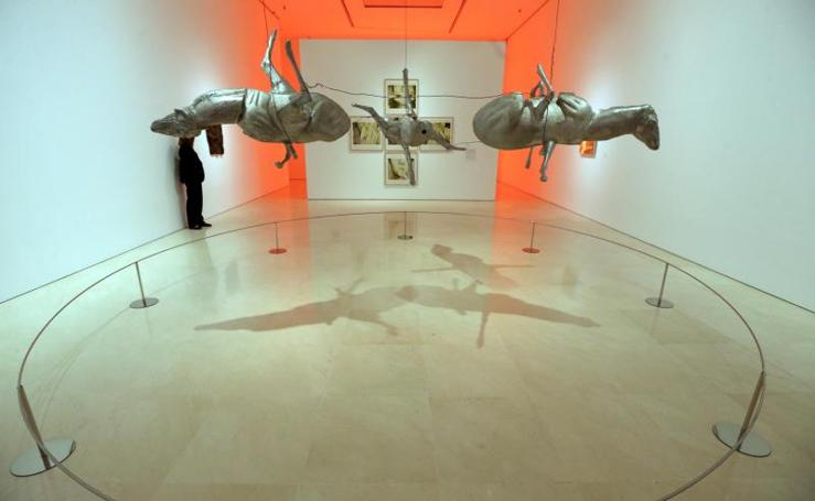 Bruce Nauman en el Museo Picasso Málaga