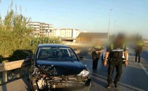 Detenido tras una persecución de doce kilómetros entre La Viñuela y Vélez-Málaga en la que provocó tres accidentes
