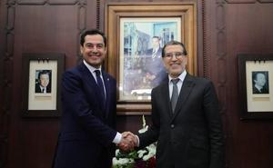 Juanma Moreno aboga por reforzar las relaciones entre Andalucía y Marruecos