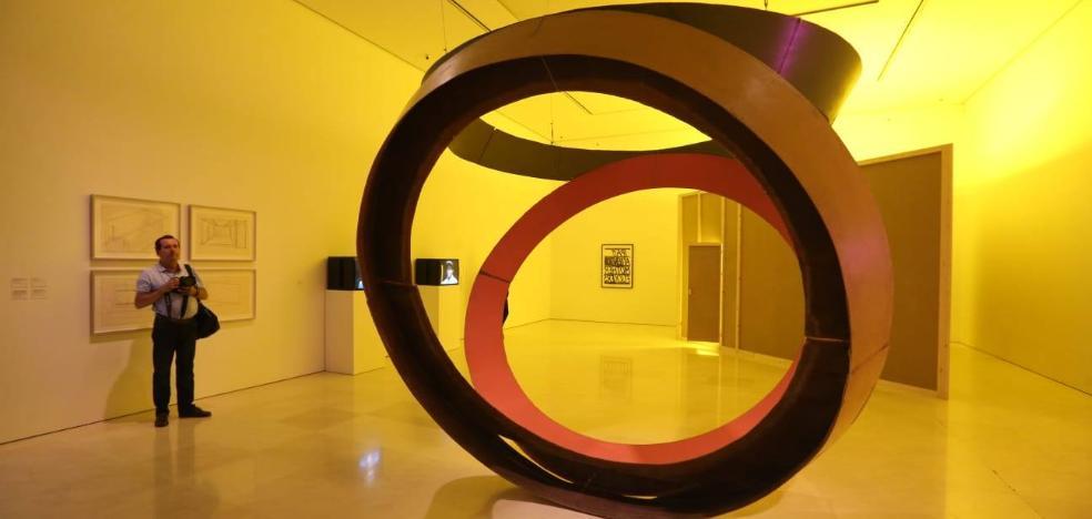 El arte al límite de Bruce Nauman sacude el Museo Picasso Málaga