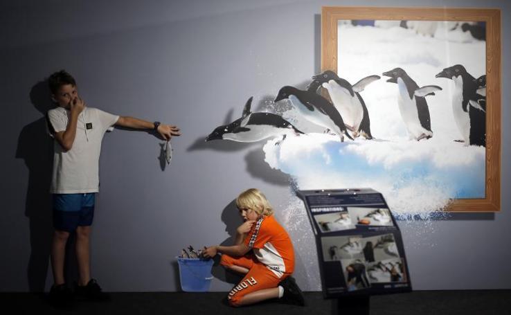 '3D Trick Gallery' en Muelle Uno