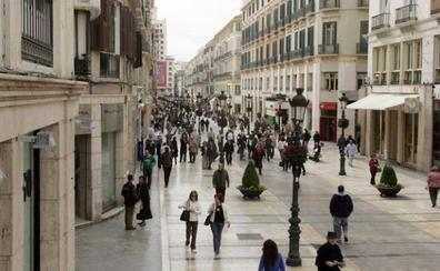Los alquileres suben un 18% en la calle Larios y ponen en duda su interés comercial