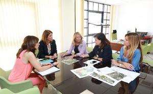 Ángeles Muñoz anuncia la primera residencia pública de Marbella en el Trapiche para 2022
