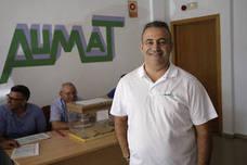 Guillermo Díaz, nuevo presidente de Aumat, la asociación mayoritaria del taxi en Málaga
