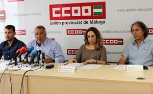 CC OO denuncia que el aumento del cierre de camas y quirófanos este verano en Málaga empeorará la lista de espera
