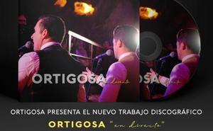 Los hermanos Ortigosa presentan su nuevo trabajo discográfico grabado en la Cueva del Tesoro bajo el título 'En directo'