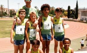 Las atletas celestes se imponen en el Regional de la categoría alevín en Carranque