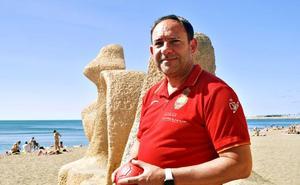 Diego Carrasco, una vida entre la pista y la arena