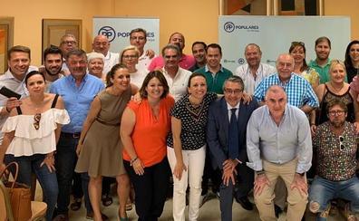 Natacha Rivas y Lourdes Piña, diputadas provinciales del PP por la comarca de la Axarquía