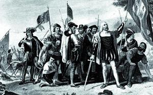 La visita de Cristóbal Colón a Málaga en plena reconquista