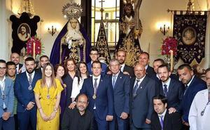 Nueva junta de gobierno de la Archicofradía del Nazareno de las Torres
