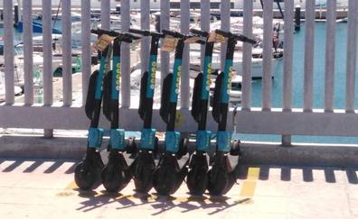 Los patinetes ya pueden aparcar en el Puerto de Málaga