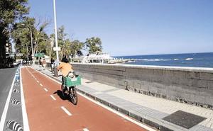Unas obras en el paseo marítimo Pablo Ruiz Picasso afectarán al tráfico