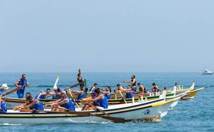Emocionante fin de semana de jábegas en Benalmádena y La Carihuela