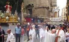 Procesión del Corpus Christi en Málaga capital