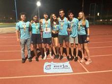Ocho medallas para el Nerja Atletismo en el Nacional sub-18