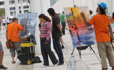 El entorno del Museo de Málaga centra el certamen nacional de pintura al aire libre, que se celebra el sábado 29