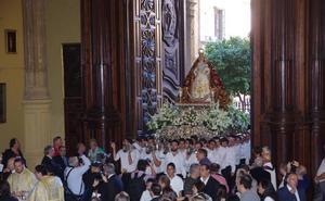 La Virgen de Araceli presidirá el rosario de las glorias el año que viene