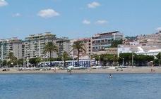 Piden el balizamiento de la playa de El Palo