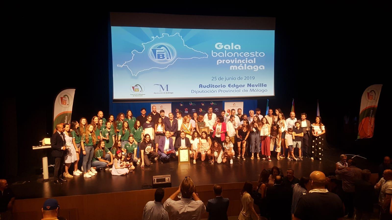Así fue la Gala del Baloncesto de Málaga 2019