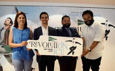 Javier Fernández escoge Málaga para iniciar su nueva gira sobre hielo